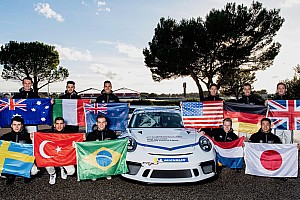 Carrera Cup Italia, Quaresmini ha completato lo Shoot Out Porsche a Le Castellet