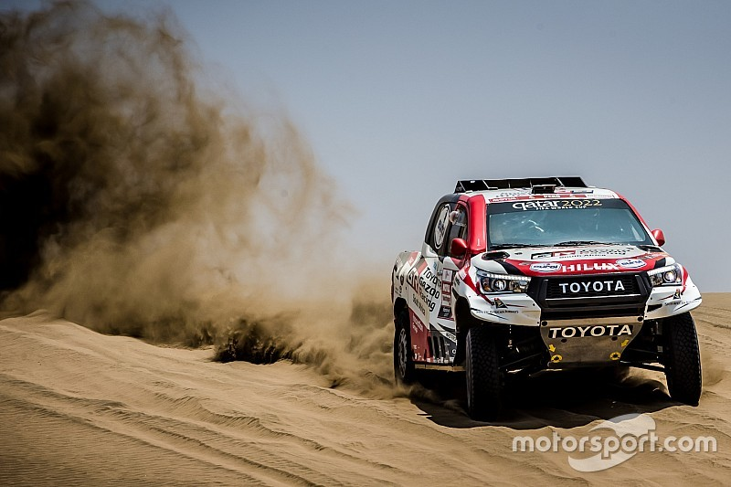 "Toyota ""must achieve"" first Dakar win in 2019"