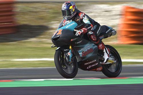 Moto3, Buriram, Libere 2: Sasaki sorprende tutti, fatica Martin