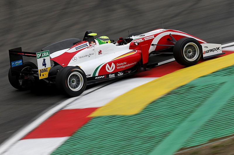 F3 Nurburgring: Schumacher pole'de!