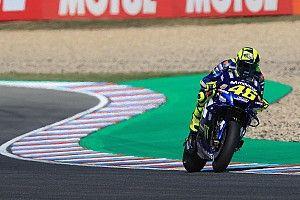 MotoGP Brno 3. antrenman: Rossi lider