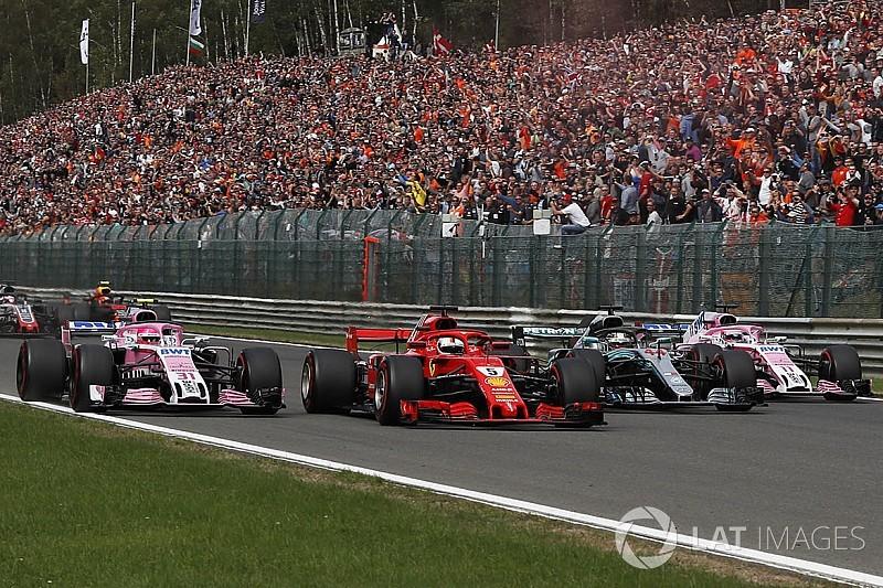 【動画】F1第13戦ベルギーGP決勝ハイライト