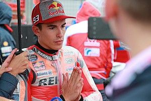 Meminta balapan dibatalkan, Marquez tak pikirkan poin