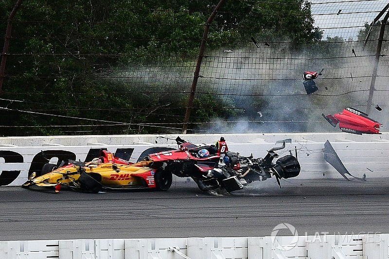 Wickens' injuries revealed following Pocono shunt