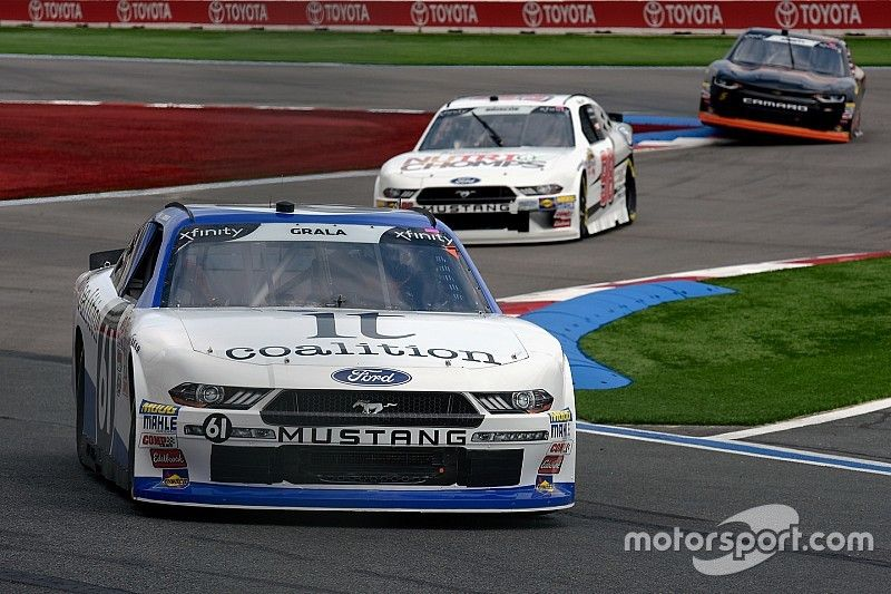 Cole Custer tops drama-free Xfinity practice at Charlotte Roval