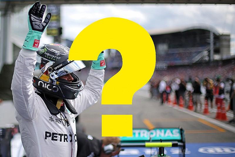Всего пару лет назад. Вспомните ли вы прошлый Гран При Германии?