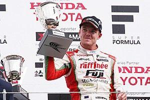 Super Formula Fuji: Cassidy raih kemenangan perdana