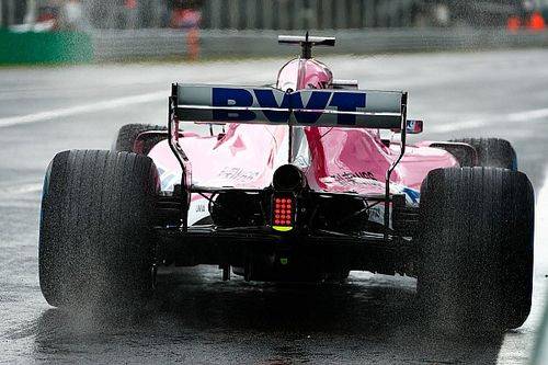 Pérez lidera una primera sesión en Monza con problemas para Vettel