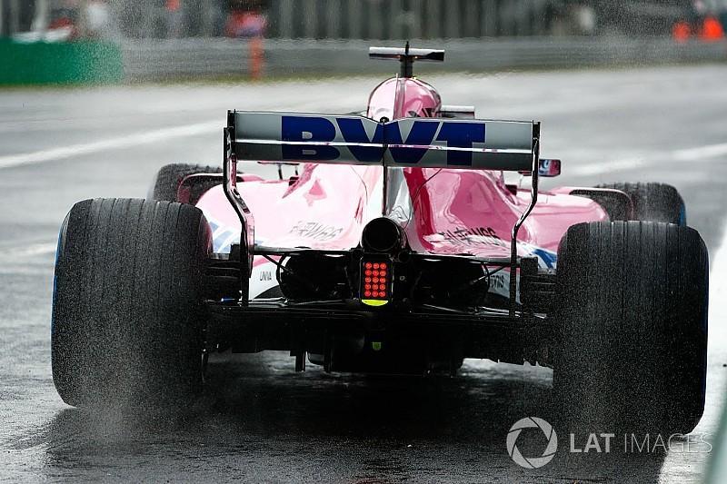 Monza, Libere 1: Perez sull'acqua, Vettel si ferma per un problema al cambio