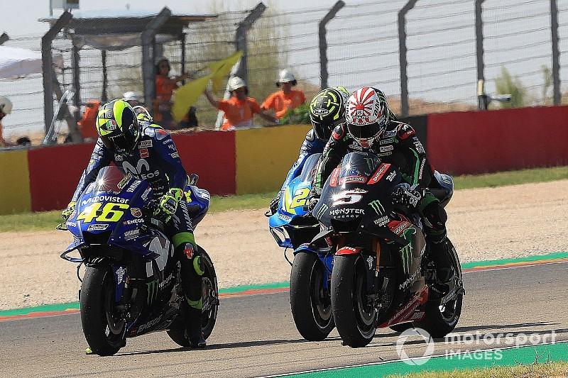 Rossi se va al suelo y todas las Yamaha se 'condenan' a la Q1