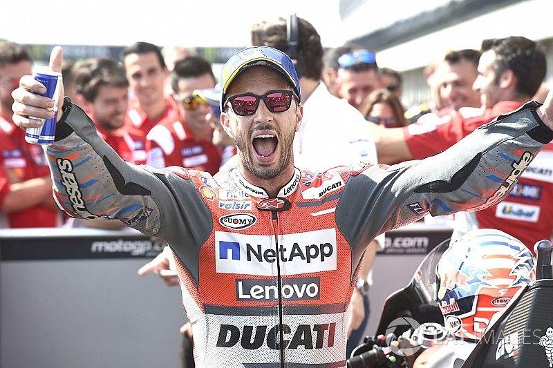 دوفيزيوزو يتقدّم ثنائيّة دوكاتي ضمن سباق برنو المثير