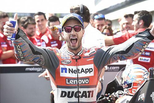 Brno MotoGP: Dovizioso kazandı, Lorenzo ikinci!