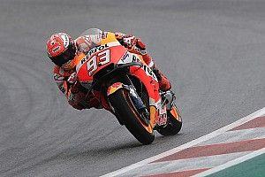 Márquez domina una segunda sesión pasada por agua