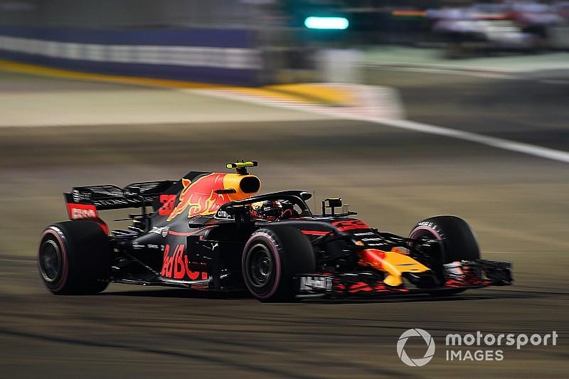 Formel 1 Singapur 2018: Verstappen schimpft über Renault