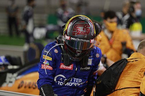 Vídeo: el disparatado lamento de Sainz tras perder el podio en Sakhir