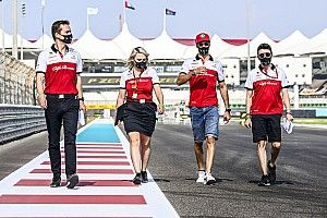 Giovinazzi, Alfa Romeo ile podyuma çıkma hayali kuruyor