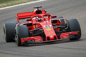 Sainz completó 110 vueltas en su debut con Ferrari