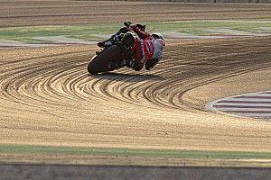 Zandstorm gooit roet in het eten op laatste MotoGP-testdag