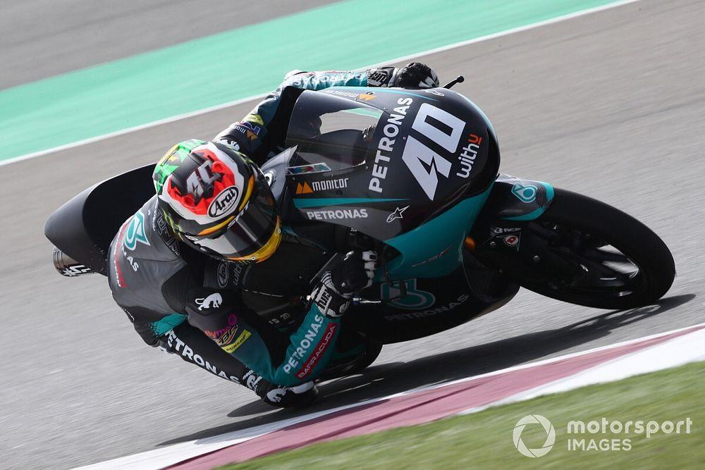 Test Moto3 Qatar, Giorno 1: Binder nella doppietta Petronas