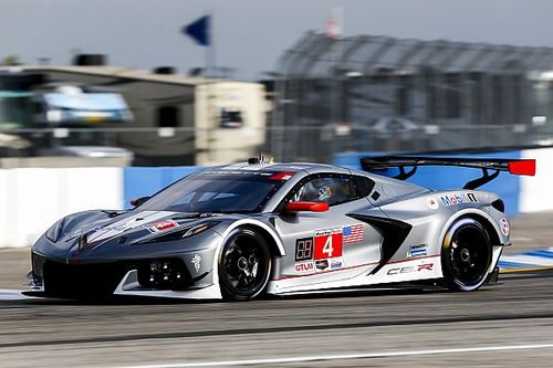 "Tandy: New Corvette C8.R ""tough"", good on Sebring bumps"