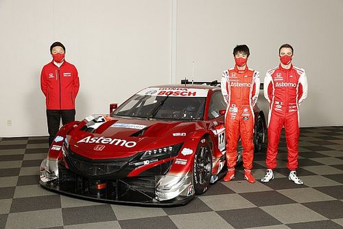 Astemo REAL RACINGが体制発表。イメージ一新した真紅のマシンで昨年の雪辱果たせるか