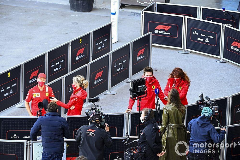 """Leclerc: """"2020 aracı Vettel'e kıyasla muhtemelen bana daha iyi uyuyordu"""""""