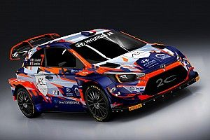 WRC: Loubet svela la livrea 2021 della sua Hyundai WRC