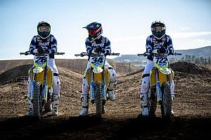 Suzuki Umumkan Line-up Supercross Team 2021