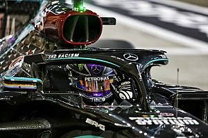 Hamilton gana la pole en Bahréin con Pérez en quinto