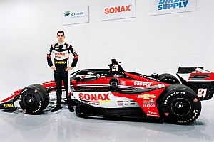 Dit is de livery voor VeeKays tweede IndyCar-seizoen