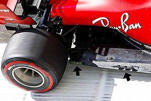 Ferrari: il fondo tagliato è già stato modificato