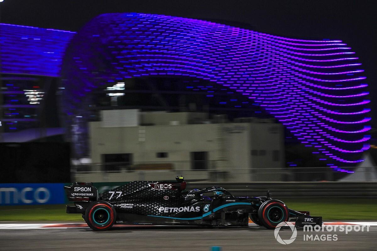 Bottas voert tijdenlijst aan na tweede training GP van Abu Dhabi