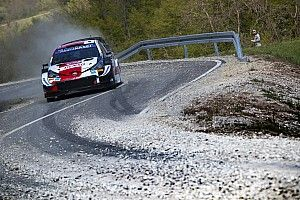 """Toyota praises Ogier for """"professional"""" drive after Croatia accident"""
