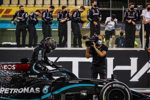 Hamilton sintió los efectos del COVID en el GP de Abu Dhabi
