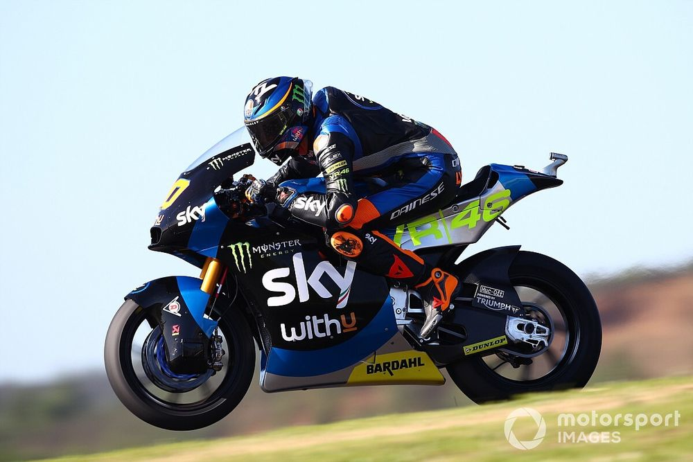 Moto2, Portimao, Libere 2: Marini su Lowes, Bastianini quinto