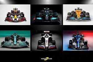 Fotos: todos los coches de la Fórmula 1 2021