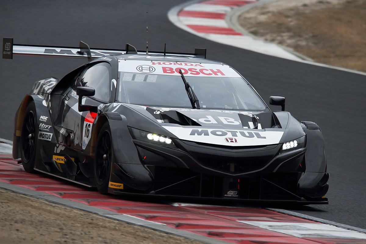 Mugen Honda tops first day of Okayama Super GT test