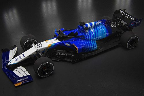 Fotogallery F1: la Williams FW43B di Russell e Latifi