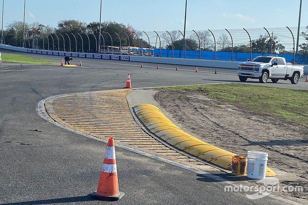 NASCAR alters backstretch chicane on Daytona Road Course