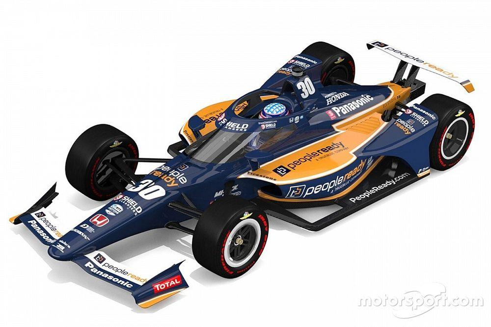 Rahal Letterman Lanigan reveals Sato's new Indy 500 livery