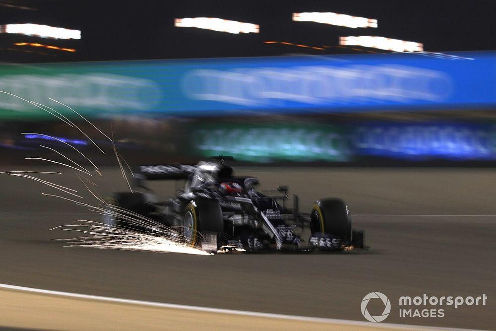 """Strange"" feeling on medium tyres cost Tsunoda Q3 place in Bahrain"