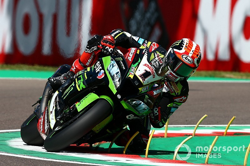 Imola WSBK: Rea leads Davies in Friday practices