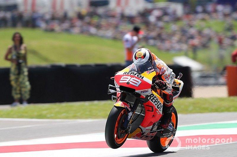 """Lorenzo: """"Es un circuito difícil para todas las Honda excepto Márquez"""""""