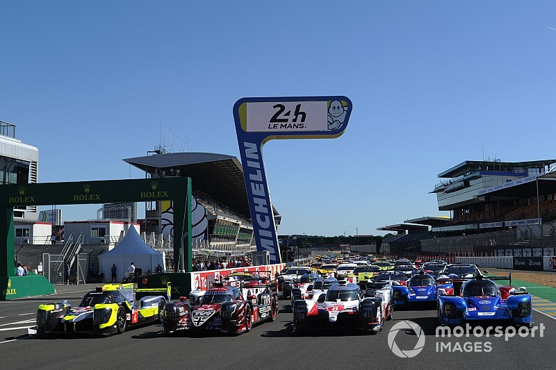 Le Mans 24 Hours starting grid in pictures