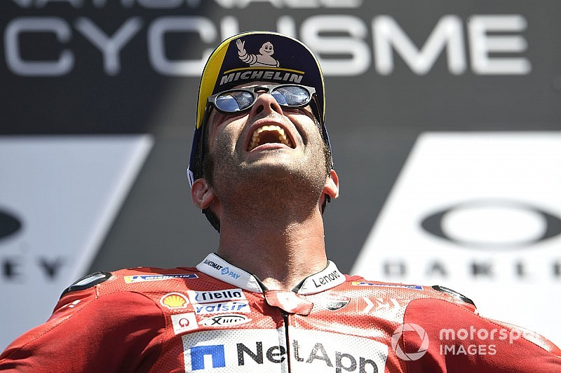 Mugello MotoGP: Petrucci beats Marquez for first victory