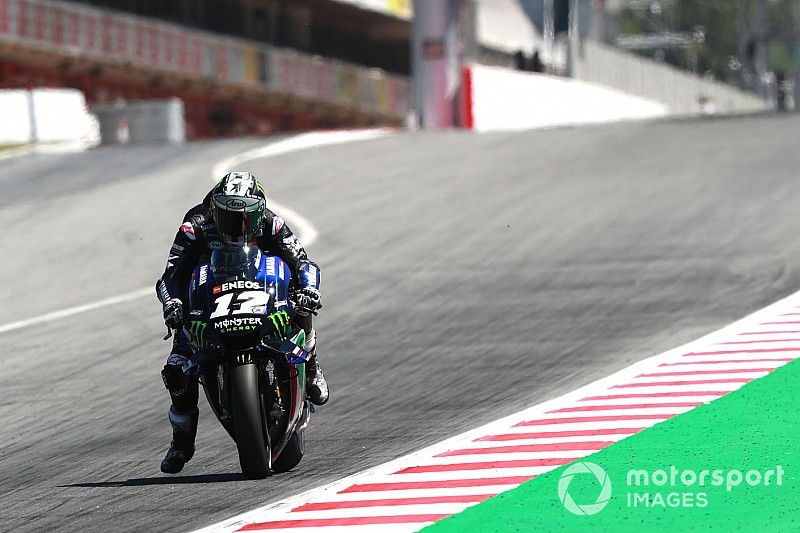 Viñales lidera 1-2 da Yamaha em teste da MotoGP na Catalunha