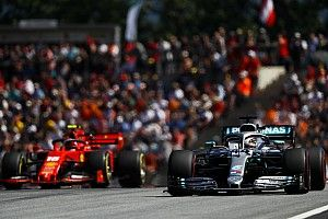 "Hamilton: Mercedes ""definitely underestimated"" Ferrari's pace"