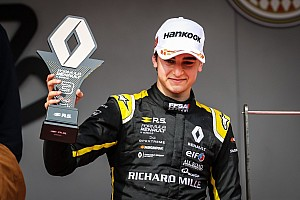 Em Mônaco, Caio Collet fatura seu primeiro pódio na Fórmula Renault Eurocup