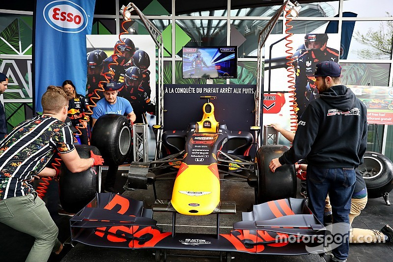 Гран Прі Канади: колова візуалізація гонки
