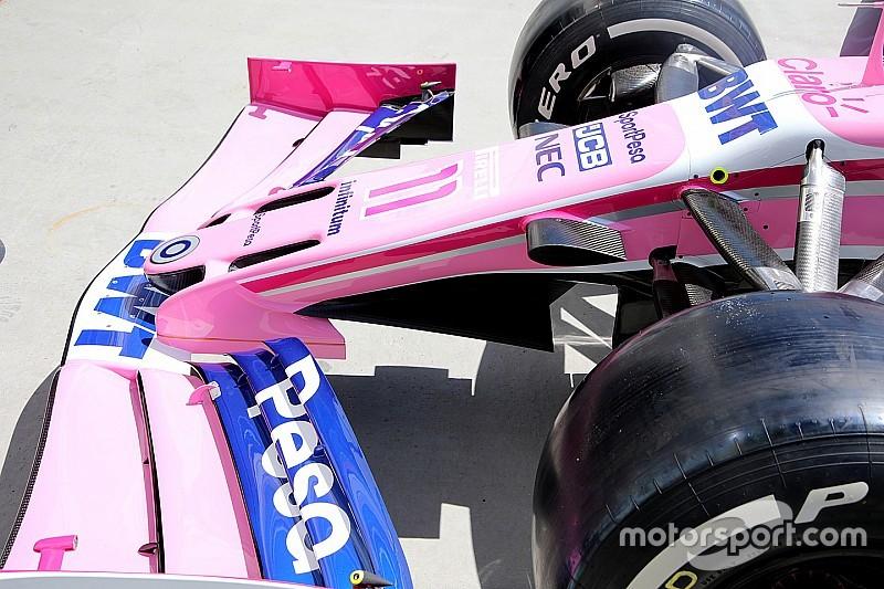 Racing Point: il nuovo muso con il mantello tipo manta della Mercedes